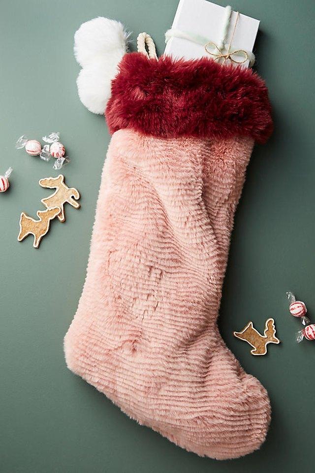 pink stocking