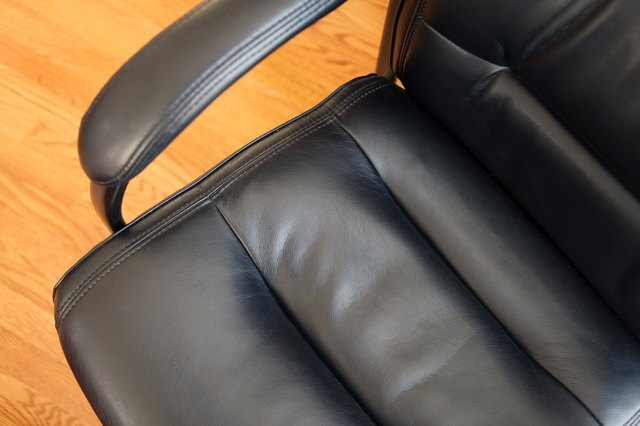 ... Alternative To Removing Scuff Marks And Scratches. With Some Shoe  Polish And A Couple Rags, You Can Repair Your Leather Furniture Yourself.