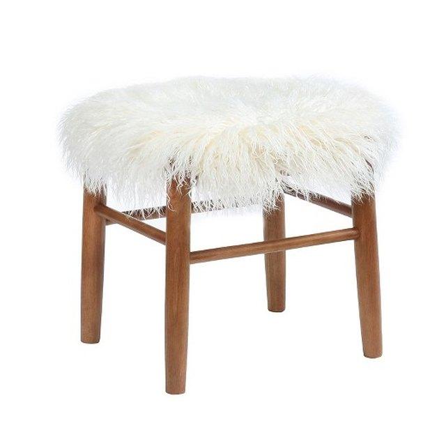 Target shaggy stool.
