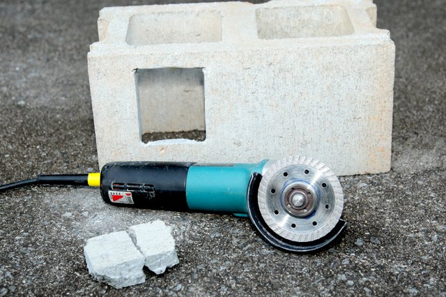 How To Cut Concrete Blocks With An Angle Grinder Hunker