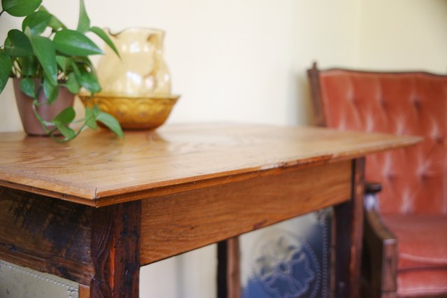 How To Remove Adhesive From Wood Furniture Hunker