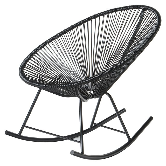 Acapulco style rocking chair