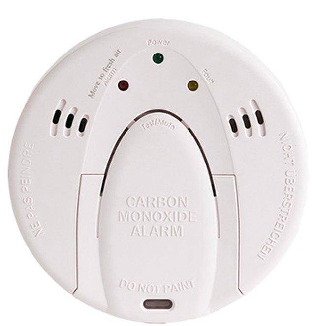 Wireless carbon monoxide detector.