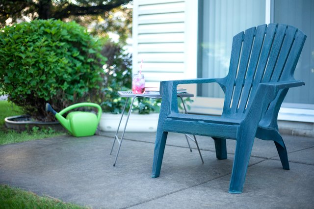 How To Clean Chalky Plastic Lawn Chairs Hunker