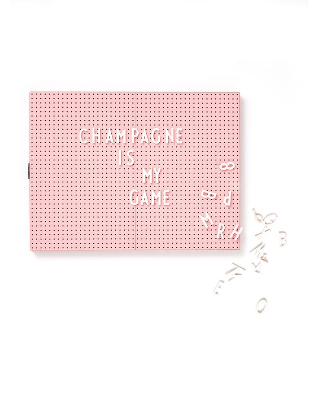 pink letter message board