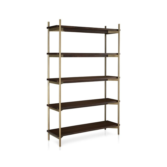 Industrial bookcase