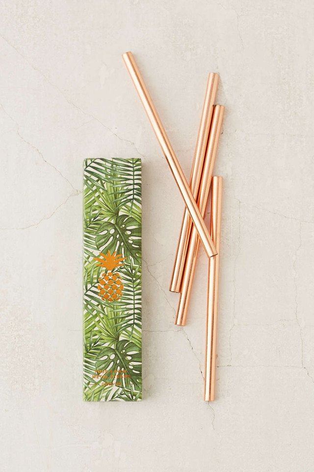 Urban Outfitters Copper Straws