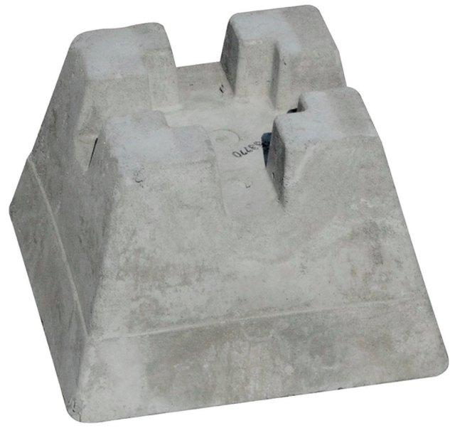 A precast concrete deck pier