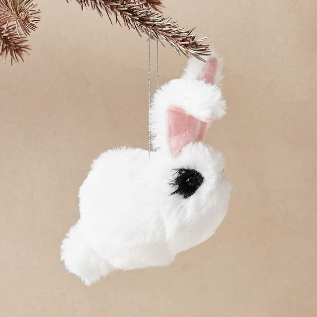 cleo the bunny ornament