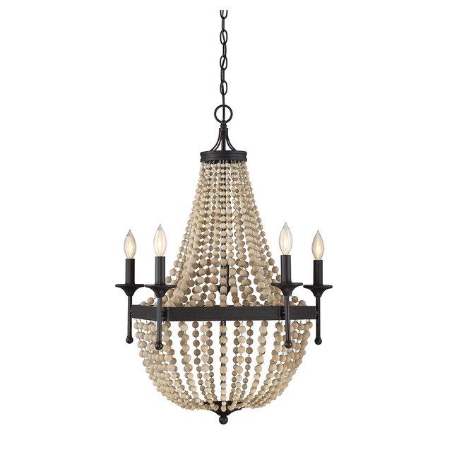 oil rubbed brass chandelier