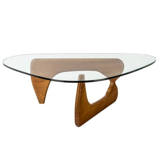midcentury sculpture coffee table