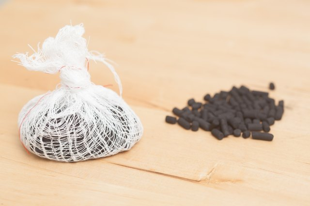 Homemade charcoal deodorizer
