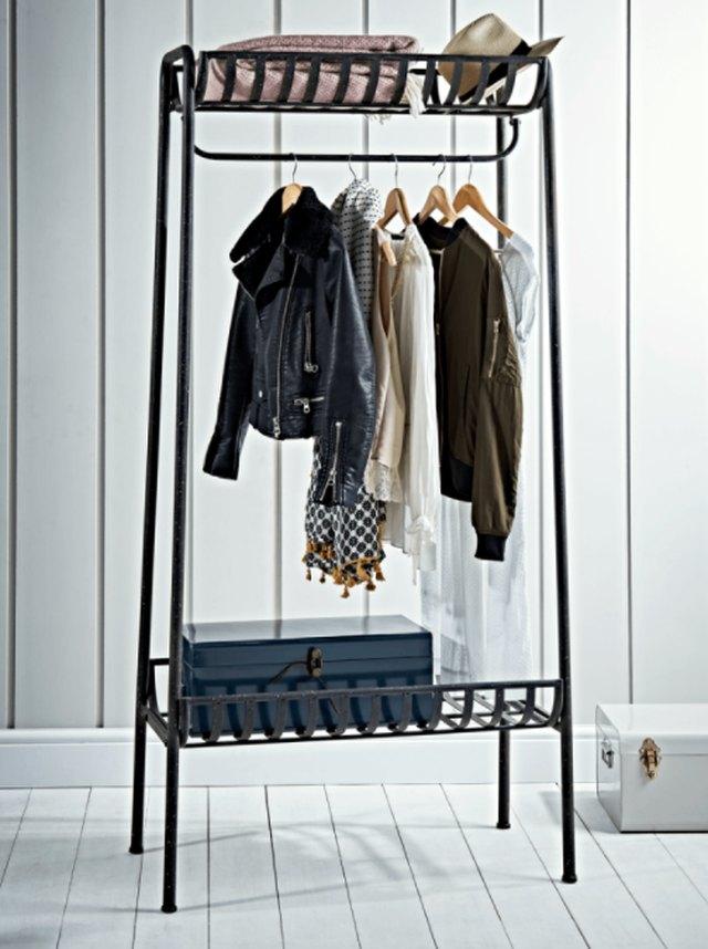 standing wardrobe rack