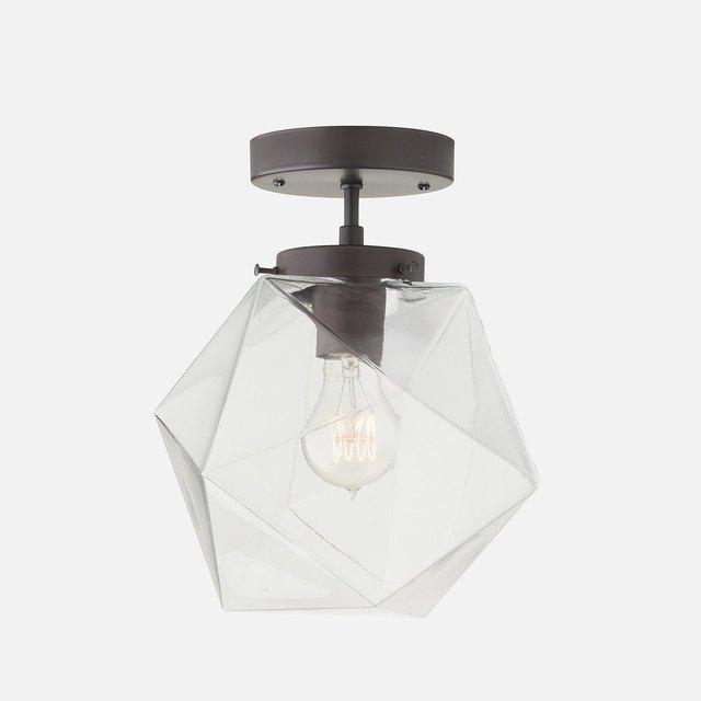 semi-flush mount light fixture