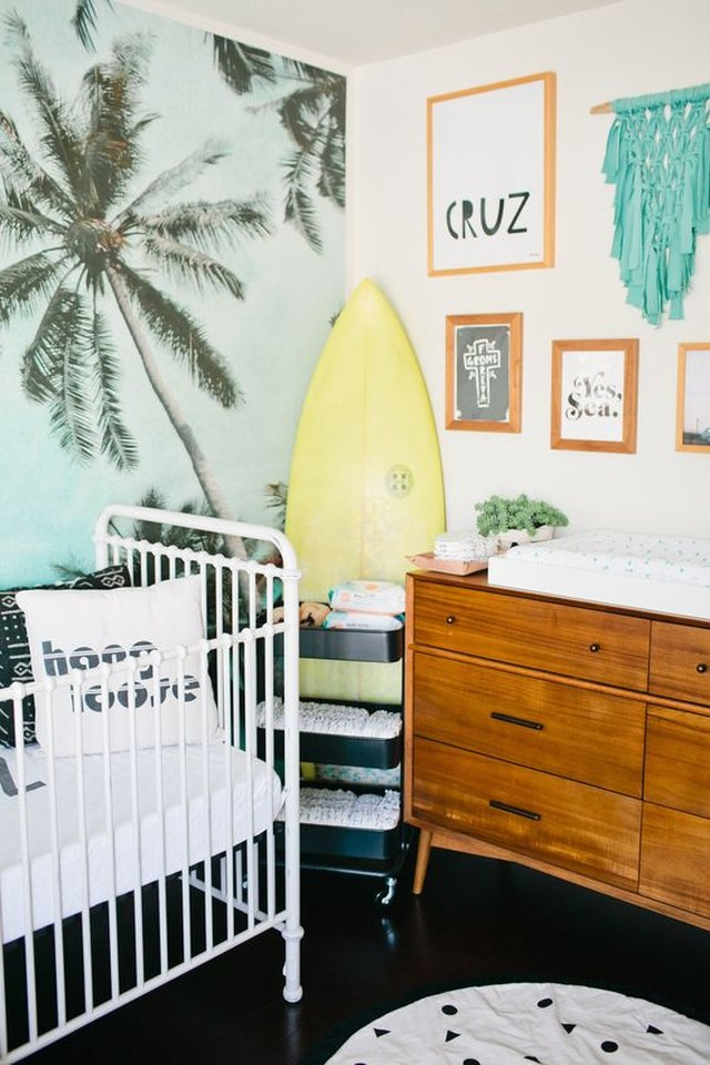 Beach-Themed Nursery