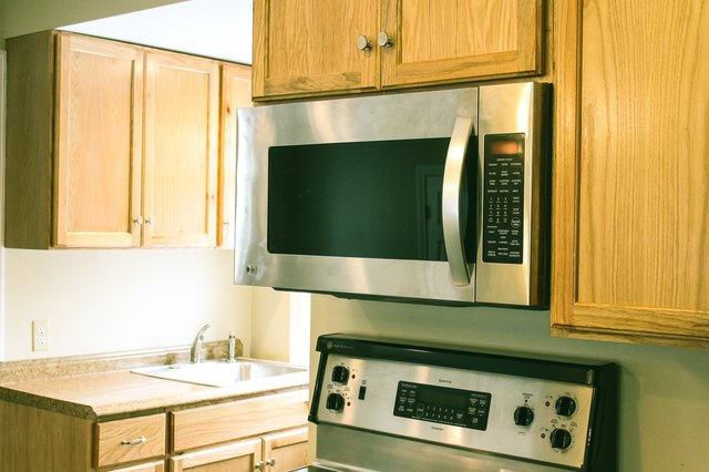 How to Mount a Microwave Under a Cabinet | Hunker