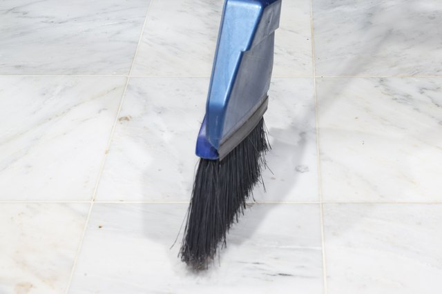 How To Clean And Polish Marble Floor Tiles Hunker