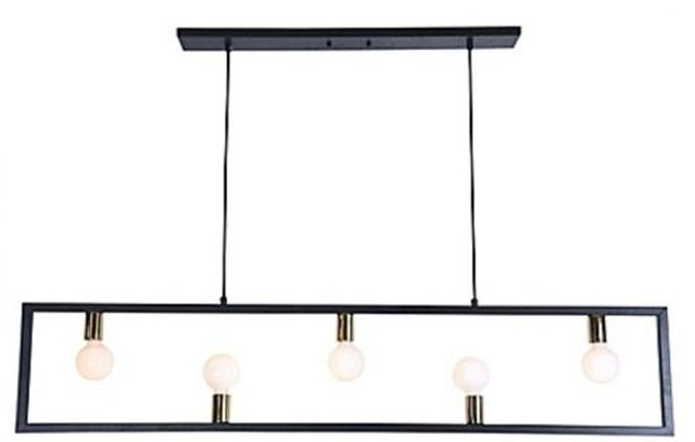 Modern bare bulb light fixture