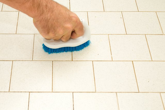 How To Paint A Ceramic Tile Floor Hunker