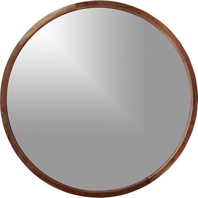 Sustainable Wood Mirror