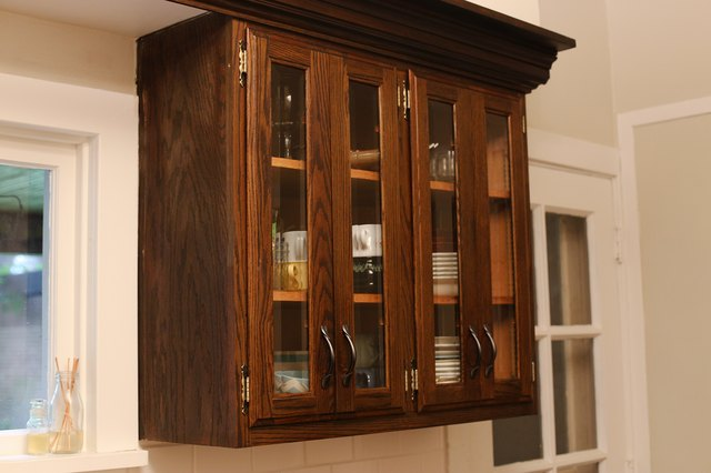 How To Clean Oak Kitchen Cabinets Hunker