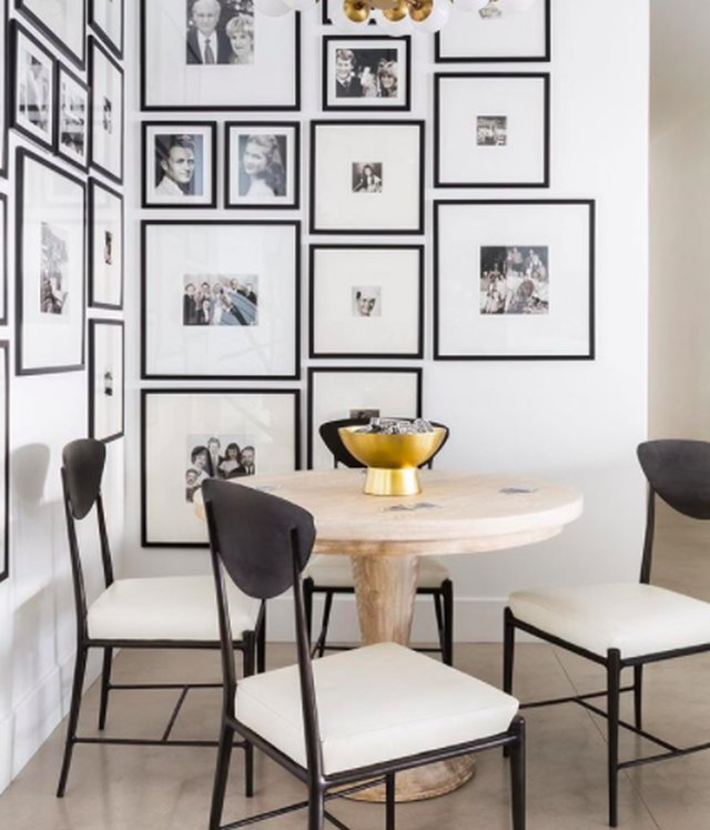 Enhance an Empty Corner With a Chic Black and White Gallery Wall | Hunker