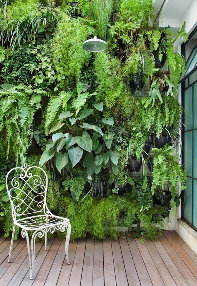 Add A Vertical Garden To Your Deck Space.