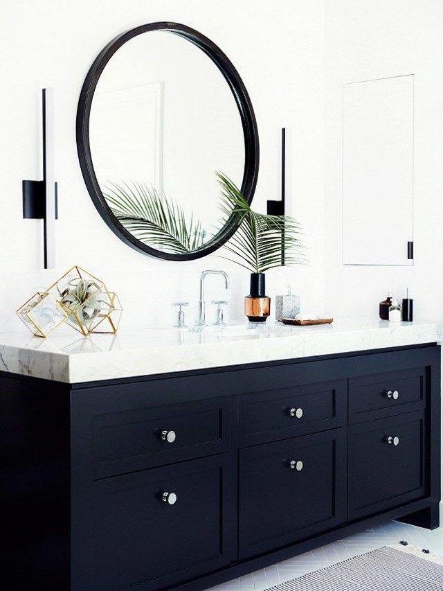 bold bathroom vanity
