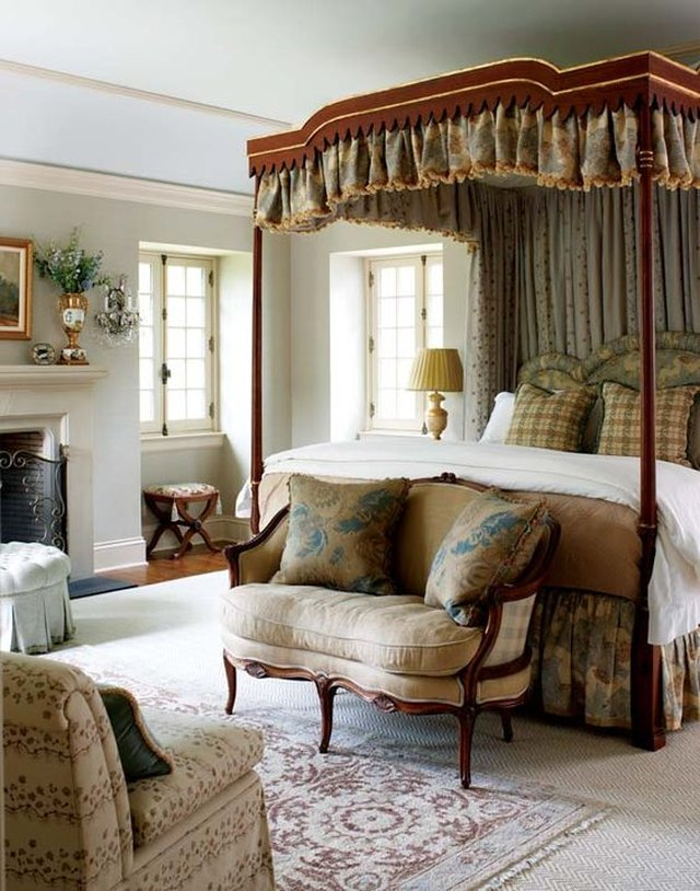 Superbe English Country Bedroom