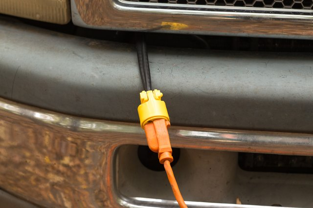 how to replace the plug on a block heater cord hunker rh hunker com Diesel Block Heater Plug Diesel Block Heater Plug for 1997