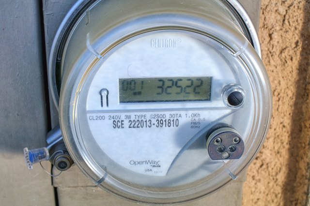 read the numbers on the digital electric meter display pay particular attention to where the decimal point is failure to properly locate the decimal point