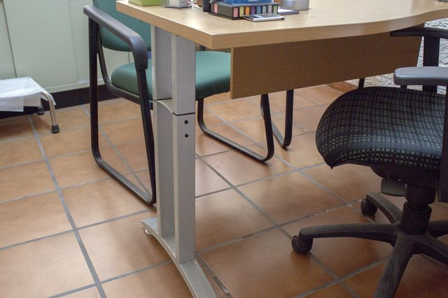 If You Want To Make A Permanent Change To Increase The Height Of Your Desk,  Swap Out The Existing Legs For Replacements. Start By Removing Each Leg  From ...