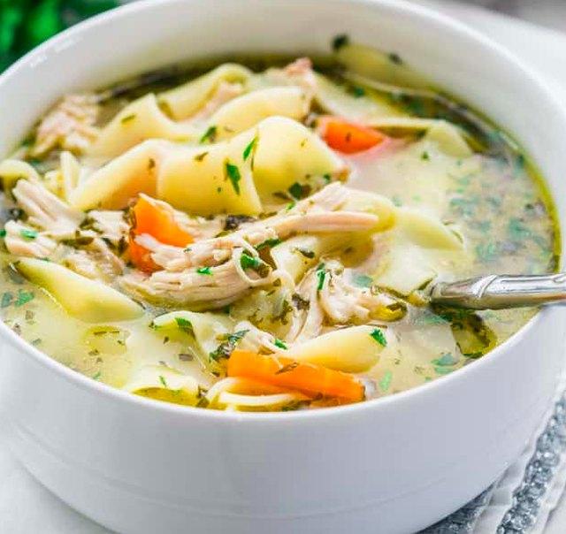 Jo Cook's Chicken Noodle Soup Recipe