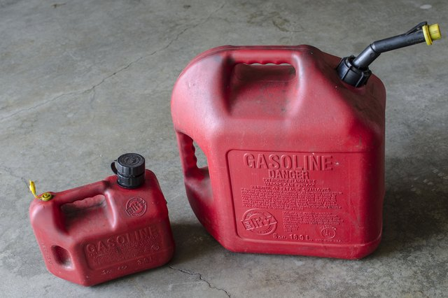 How to Store Gas Cans Inside a Garage Hunker
