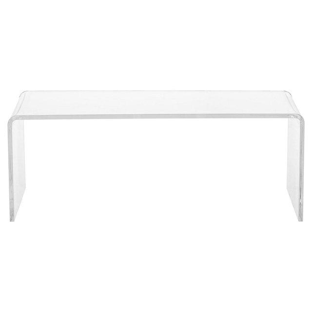 Minimal acrylic coffee table