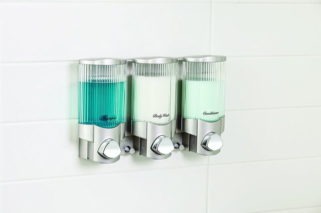 Three Chamber Shower Dispenser