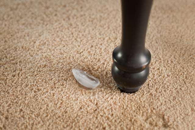 how to get furniture dents out of wool carpet