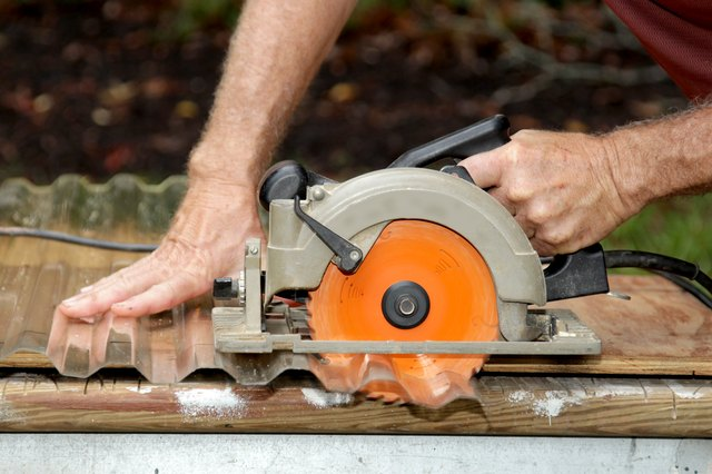 How To Cut Corrugated Plastic Roofing Hunker