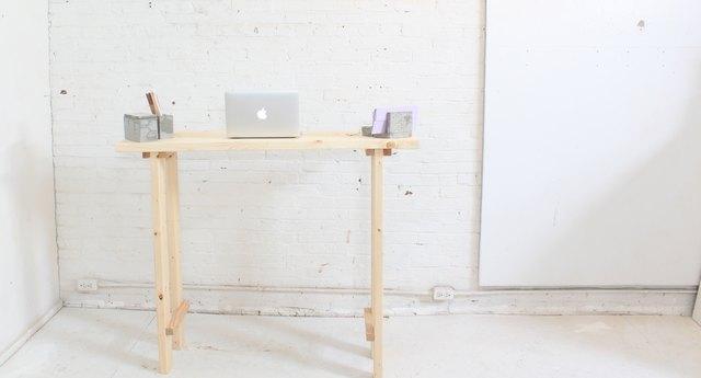 Full photo of standing desk