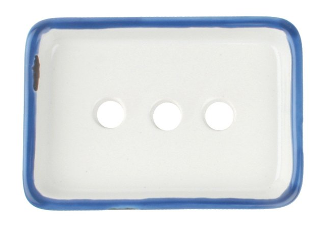 tin soap dish