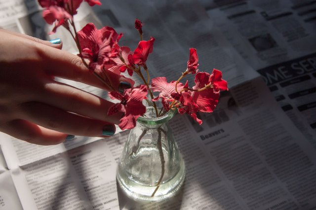 How To Make Your Own Fake Water For Artificial Flowers Hunker