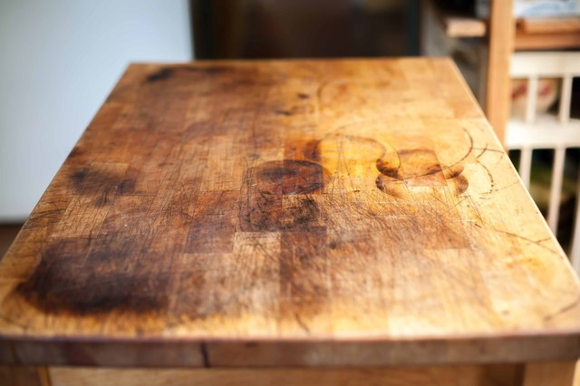 How To Refinish A Butcher Block Hunker