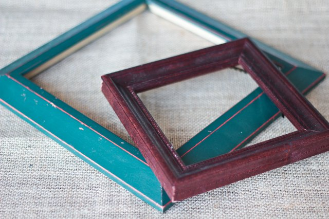 How to Paint Wood Picture Frames | Hunker