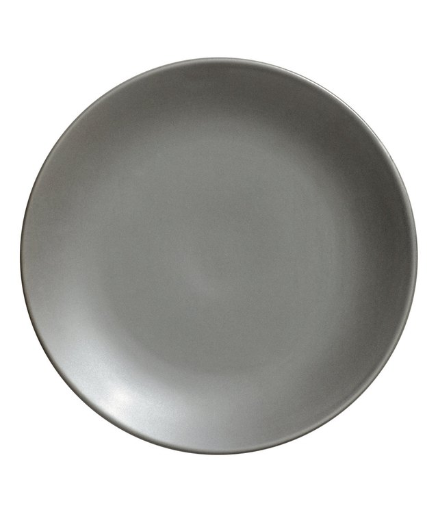 gray plate