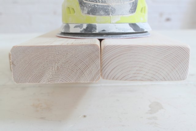 Comparing sanded and unsanded board ends