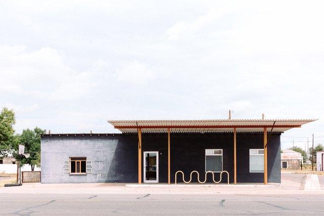 Colomo | Marfa, a former Texaco station
