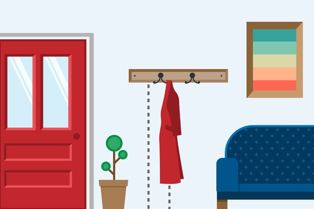 The Height on a Wall to Hang a Coat Rack | Hunker