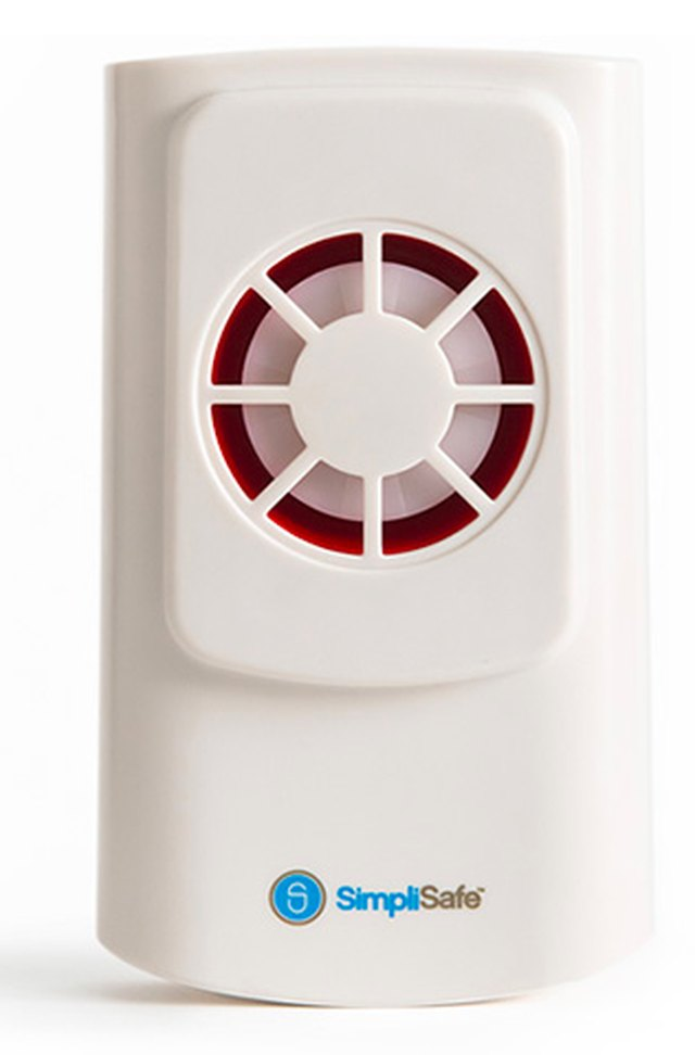 Wireless alarm speaker.