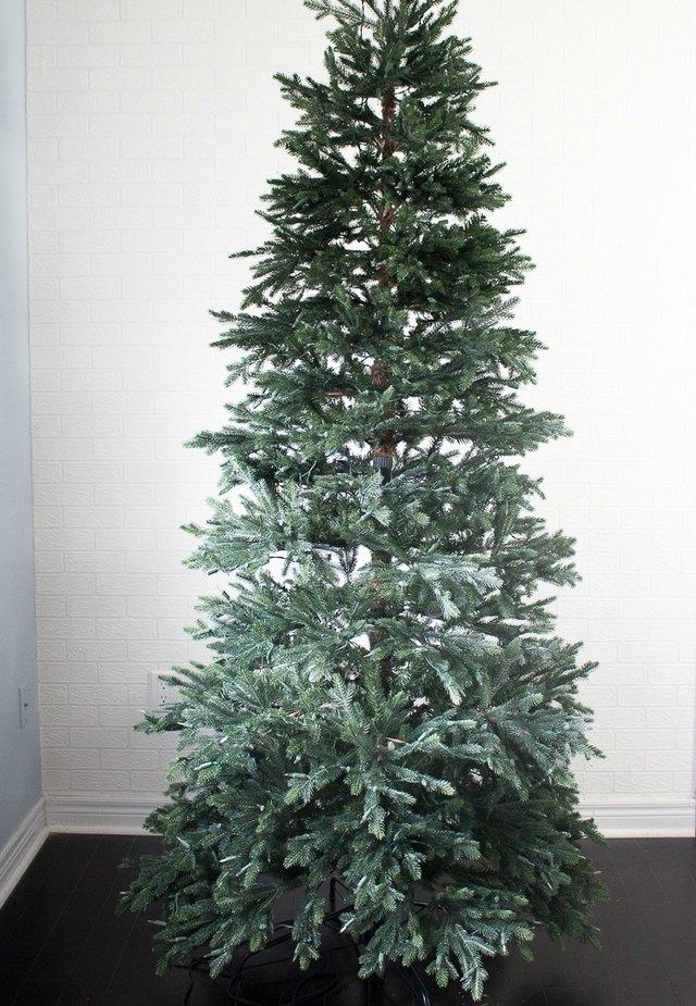 Assembled artificial tree