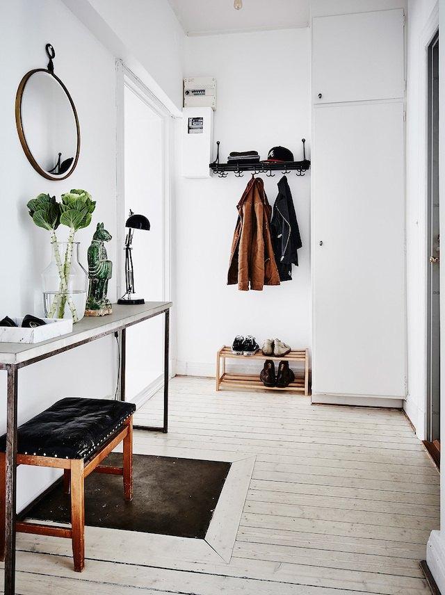 Organized hallway